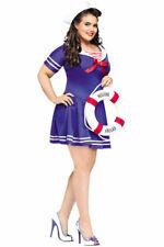 Brand New Sailor Anchor's Away Plus Size Halloween Costume