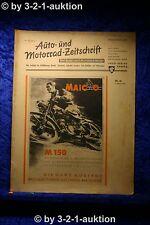Auto und Motorrad Zeitschrift Nr. 10/50  9.3.1950 Der Auto Markt