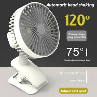AU_ KQ_ CW_ HB- Mini Portable 3 Speed Adjustable USB Cooling Fan Home Desktop Ai