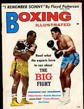 April 1971 Boxing Illustrated Magazine Muhammad Ali & Frazier Front Cover EX+