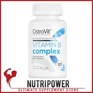 OSTROVIT VITAMIN B COMPLEX Nervous Immune System Metabolism Support Vit C E B6