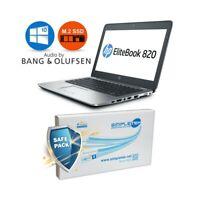 "COMPUTER NOTEBOOK HP ELITEBOOK 820 G3 i5 6300U 12,5"" RAM 8GB SSD 120GB AUDIO B&O"
