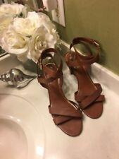 RALPH LAUREN Woman's Luna Dress Sandal -Size Polo Tan Color 10b