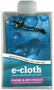 E-CLOTH MOBILE PHONE POUCH - CLEANS AND PROTECTS YOUR MOBILE PHONE