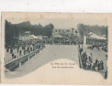 La Fete De St Cloud Jeux des Grandes Eaux France Vintage U/B Postcard 810a