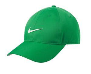 Nike Dri-FIT Swoosh Front Adjustable Strapback Dad Cap Authentic Men's Hat Golf
