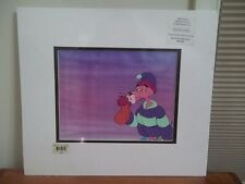 Pink Panther Original Animation Cel Matted + Coa And Sketch hot water bottle
