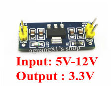 DC/DC 5V-12V to 3.3V Step Down Power Supply Module Buck Voltage Regulator