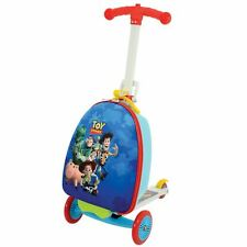 Official Toy Story 3 in 1 Scootin Suitcase Kids Travel Luggage Trolley Scooter