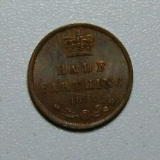 1852 Great Britain Half Farthing UNC
