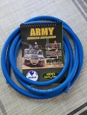 Thera Band Resistance 6 feet Tube Blue  Army Fitness Deployed Strength Booklet