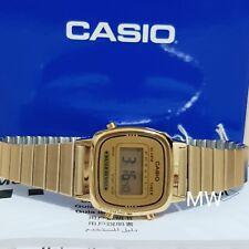 LATEST CASIO LA670WGA-9D LA670GA VINTAGE DIGITAL WOMEN'S GOLD WATCH NEW