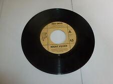 "BEE GEES - Night Fever - 1978 SPAIN RSO label 7"" Juke box Vinyl Single"