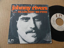 "DISQUE  45T DE JOHNNY RIVERS  "" SEARCHIN'/SO FINE """