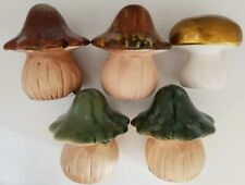 "Ceramic Mushrooms Decorations 4.1"" x 3.7"", Select: Color"