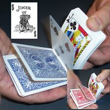 Svengali Black White Joker Deck, Magic Card Trick, Bicycle Red or Blue
