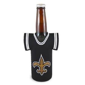 New Orleans Saints Jersey Bottle Cooler, NFL Coozie Koozie Coolie