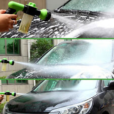 US Car Washing Clean Foam Water Gun Pipe Washer Spray Gun Home Cleaning Green