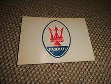 Buch Brochure Booklet Prospekt La Storia Della Maserati 72 Seiten hochwertig