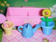 Little Kelly Flower Box Garden Pots for Fisher Price Loving Family Dollhouse