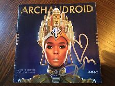 AUTOGRAPHED JANELLE MONAE THE ARACHNOID CD Signed