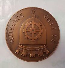 Medaille bronze Ville de Mulhouse RefV461
