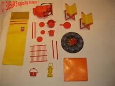Big Jim Accessoires Set: Camping/Pique-Mattel! Action Set marcheurs