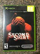 Second Sight (Microsoft Xbox, 2004) Clean & Tested Working - Free Shipping