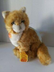 Rare Vintage Steiff Orange Tapsy Cat