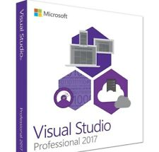 Visual Studio 2017 Pro License Digital Delivery with Retail Disc