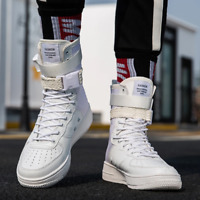 Fashion High Top Boy/Girl Buckle Breathable Casual Sneakers Street Style Couple
