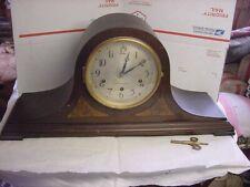 New Listingantique 8 day seth thomas no.124 westminster chimes mantle clock & key it runs