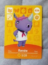 Renee #026 Animal Crossing Amiibo Card series 1 - FREE shipping