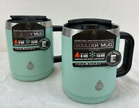 2 Tal Boulder Vacuum Insulated Travel Mugs 14 Fl Oz Mint Green New With Tags