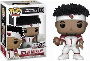 FUNKO POP! NFL: Cardinals - Kyler Murray (Home Jersey) With Protector Mint New