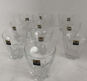 Vintage Octime Luminarc Made in France Shot Glass Lot Set of 10
