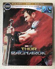 Thor: Ragnarok (Blu-ray/DVD, SteelBook Includes Movies Anywhere Copy, Best Buy)