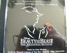CD Disney's Beauty And The Beast The Musical Original Australian Cast Recording