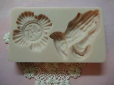First Communion II Set silicone mold fondant cake decorating APPROVED FOR FOOD