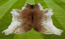 """B Grade Calfhide Rugs Area Cow Skin Leather Cowhide ULG 35807 (30"""" X 29"""" )"""