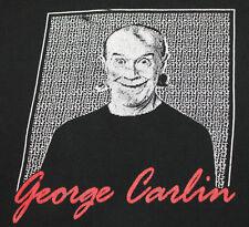 XL * vtg 90s GEORGE CARLIN Brain Damage comedy t shirt * 80.72