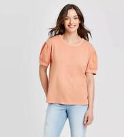 Universal Thread Women's Puff Short Sleeve T-Shirt - Size XL