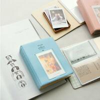 3Inch 64 Pockets Photo Album Blue for Polaroid Fuji Instax mini7s 8 25 50 90 UP