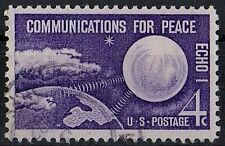 US 1960 Scott #1173 Echo 1 Communication For Peace Space Cosmos 4 Cent STAMP