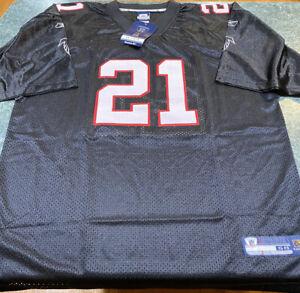 Vintage Reebok Deion Sanders Atlanta Falcons NFL Home Football Jersey Sz 58 XXXL