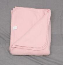 NEW Unbranded Fleece Blanket Pink 50 x 60 06113