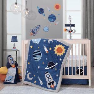 Lambs & Ivy Milky Way Baby Nursery Crib Bedding Set CHOOSE FROM 4 & 5 Piece Set