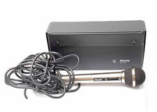 Philips EM 8411  Mikrofon Metallgehäuse Kabelgebunden mit ETUI  Nr.1092