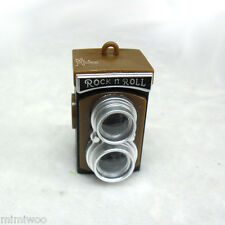 Super Dollfie 1/3 1/4 Bjd Doll Miniature BROWN Mini Twin Camera w Sound & Light