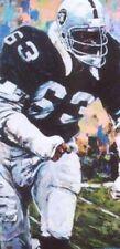 Gene Upshaw Autographed Limited Edition Fine Art Print Signed Raiders